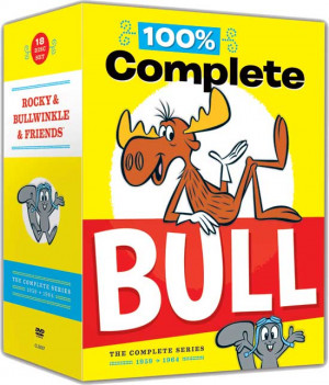 Rocky & Bullwinkle & Friends - The Complete Series: 100% Complete Bull