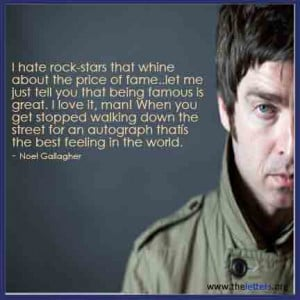 Noel Gallagher Quotes | Oasis Quotes