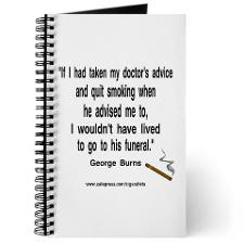 George Burns Cigar Quote Journal for