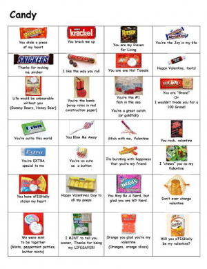 ... Candies Sayings, Candy Bar Sayings, Valentine Fun, Gift Ideas, Candies