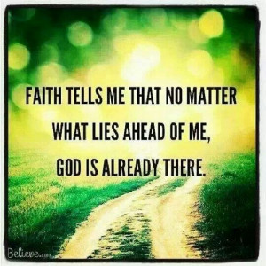 Yep! Keep the faith!