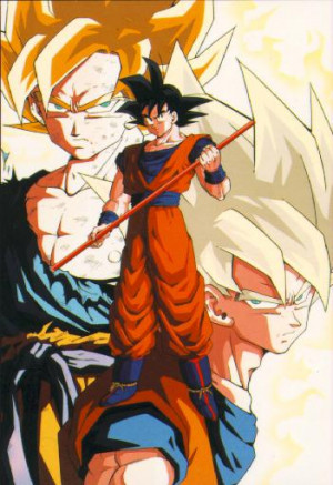 Wikipedia : Dragon Ball Z follows the adventures of the adult Goku who ...