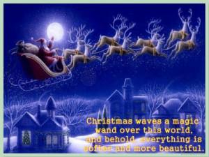 Magic Of Christmas Sayings