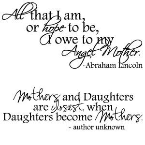 20+ Sweet Bucket of Mother Quotes