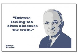 Truman Quote About Truth