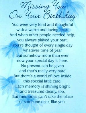 Birthday Card Sending You...