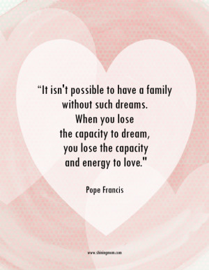 Posters for Our Home: Inspiring Messages from Pope Francis