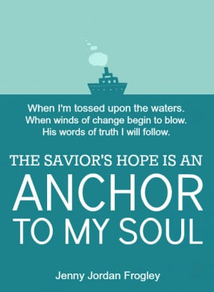Anchor Quotes About Love Faith / anchor quote