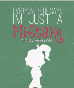 Vanellope (Wreck-it Ralph) quote