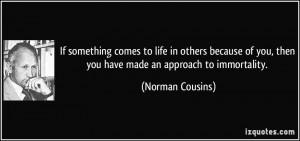 More Norman Cousins Quotes