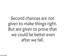 second chance quote know yourself quotes true quotes quotes 3 second ...