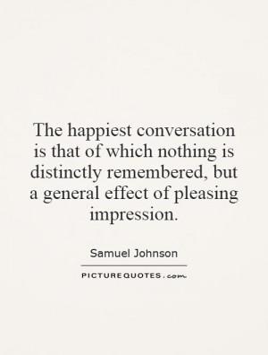 Conversation Quotes Samuel Johnson Quotes