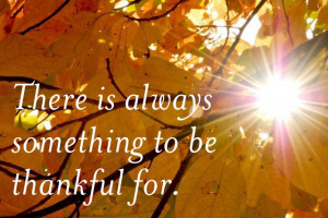 Tuesday Tidbit ~ We Are Thankful!