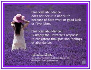 ... Abraham-Hicks Quotes (AHQ3054) #money #abundanceAbraham Hicks Quotes