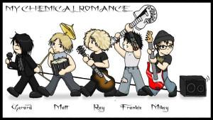 my chemical romance cartoon