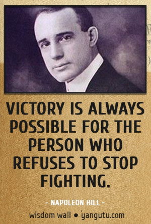 Napoleon Hill's Key to Success