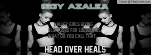 Work Lyrics - Iggy Azalea Profile Facebook Covers