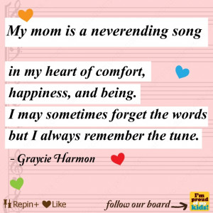 My #mom is a never ending song. #love