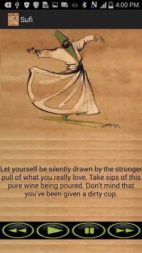 can find the best Sufi Music for meditation and Rumi (Mevlana) quotes ...