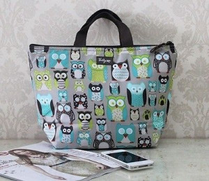Thirty one Thermal Picnic Lunch Tote Bag 31 Life's a hoot OWL new GIFT ...