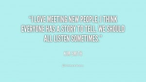 Quote About Meeting Someone Special .