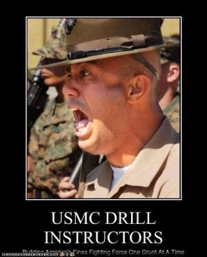 Marine Drill Instructor Quotes Quotesgram