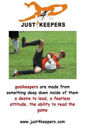 It's a #goalkeeper thing http://just4keepersnj.com