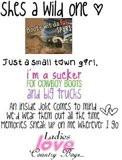 Country Girl Sayings Graphics...