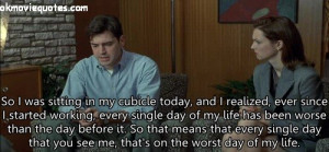 17 amazing picture quotes from movie Office Space