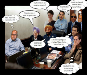 Indian Political Quotes In Meeting Funny Photo