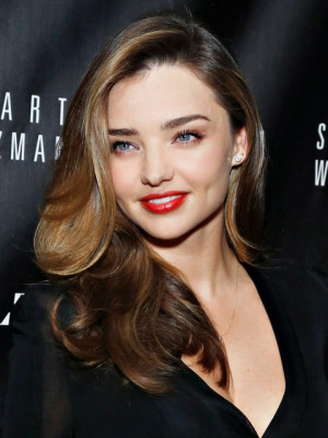 Miranda Kerr Long Hairstyles: Ombre Hair style /Getty Images