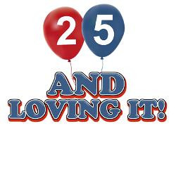 25_years_and_loving_it_greeting_card.jpg?height=250&width=250 ...
