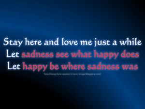 Happy - Michael Jackson Song Lyric Quote in Text Image