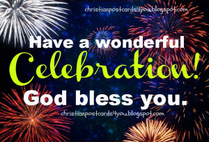 New Year of life. free christian card for facebook friends. Happy New ...
