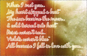 Quotes Falling Love on Fall In Love With You