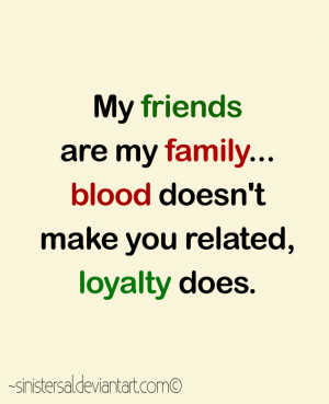Family Loyalty Sinistersal