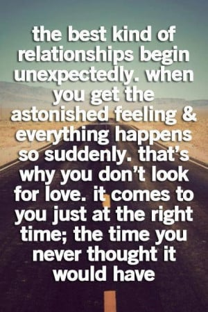 Life quotes and cute sayings love feeling unexpected