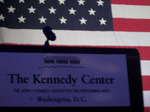 Down the halls of the Kennedy Center