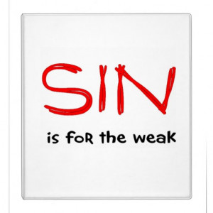 Christian sayings about sin binder