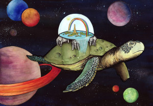 Discworld - Great A'Tuin by motxuel