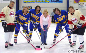 Slap Shot Hanson Brothers Pop Art Canvas Hockey Movie Poster Picture
