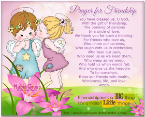Prayer for Friendship
