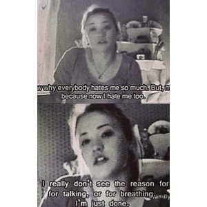 Self harm quotes and other things. If you like it please comment and ...
