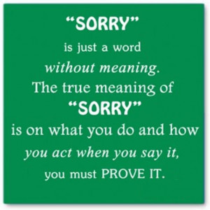 Sorry Quotes and Sorry Love Quotes