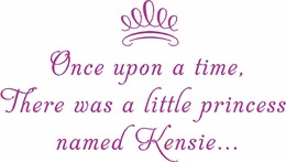Baby Girl Quotes - Vinyl Wall Sayings