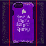 purple girly inspirational sparkle quote purple girly inspirational ...