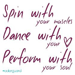 Color Guard Quotes And Sayings Quotesgram
