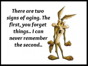 Wile E. Coyote ~ Funny ~ Life ~ Quote