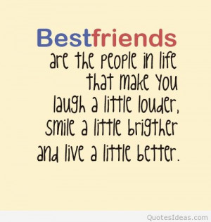 Awesome Best Friend quote 2015