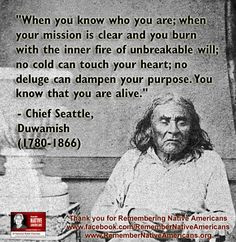 Indian, Chiefs Seattle, Beautiful Wisdom, Spirituality Nature, Quotes ...